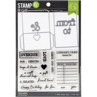 Hero Arts - Library Card XL, Leima- ja stanssisetti