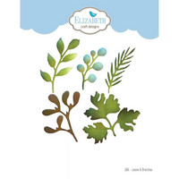 Elizabeth Craft Design - Leaves & Branches, Stanssisetti