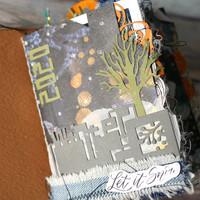 Elizabeth Craft Design - Cubic Background, Stanssi