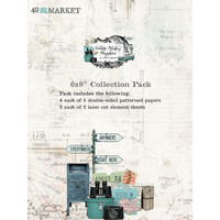 49 And Market -  Vintage Artistry Anywhere, Paperikko 6''x8'', 36sivua