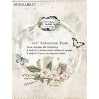 49 And Market - Vintage Artistry Essentials, Paperikko 6''x8'', 36sivua