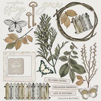 49 And Market - Vintage Artistry Essentials, Collection Pack 12