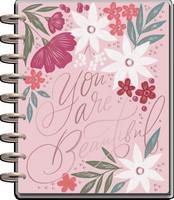 MAMBI - CLASSIC Happy Planner, Spring Garden, päivätty 18kk