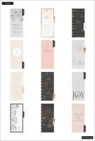 MAMBI - SKINNY CLASSIC Happy Planner, Sophisticated Florals, päivätty 12kk