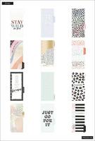 MAMBI - SKINNY CLASSIC Happy Planner, Colorful Leopard, päivätty 12kk (HUOM! Kansissa jälkeä)