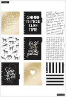 MAMBI - CLASSIC Happy Planner, Black & White, päivätty 18kk