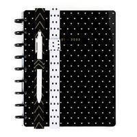 MAMBI - Happy Planner Classic Black & White Elastic Band Pen Holder, 2 kpl