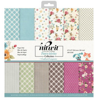 Crafter's Companion - Pawsitivity, Patterned Paper Pad 12