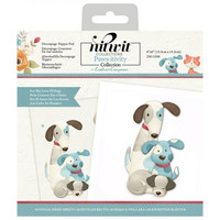 Crafter's Companion - Pawsitivity For the Love of Dogs, Die-Cut Decoupage Topper Pad, 6