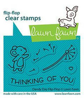 Lawn Fawn - Dandy Day Flip-flop, Leimasetti