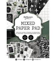 Studio Light - Mixed Paper Pad, nr.161, A5, Paperikko