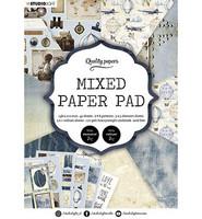 Studio Light - Mixed Paper Pad, nr.162, A5, Paperikko