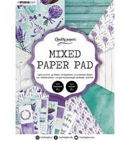 Studio Light - Mixed Paper Pad, nr.158, A5, Paperikko