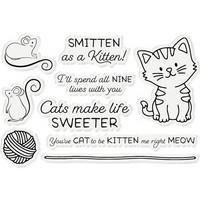 Gemini - Stamp & Die, Smitten As A Kitten, Stanssi- ja leimasetti