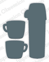 Impression Obsession - Thermos & Mugs, Stanssisetti