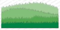 Impression Obsession - Grass Border Set, Stanssisetti
