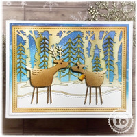 Impression Obsession - Two Folk Deer, Stanssisetti