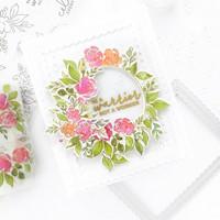 Pinkfresh Studio - English Garden, Leimasetti