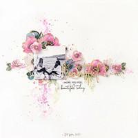 Pinkfresh Studio - Anemone Magic, Leimasetti
