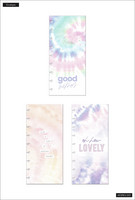 MAMBI - Happy Planner, Pastel Tie-Dye, Plastic Envelopes