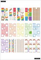 MAMBI - Happy Planner, Pride, Tarrasetti, 30arkkia