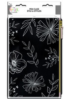 MAMBI - Happy Planner, Neutral Florals Classic Banded Pouch