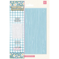 Crafter`s Companion - Farmhouse, Embossing Folder, Textured Wood