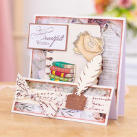 Crafter`s Companion - Sara Signature Vintage Diary Collection, Stanssisetti, Page Edges