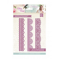 Crafter`s Companion - Sara Signature Letters from The Heart Collection, Stanssisetti, Lace Borders
