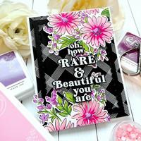Pinkfresh Studio - Floral Bunch Layering, Kerrossapluunasetti