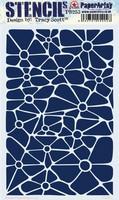 PaperArtsy - Stencil 253, Sapluuna