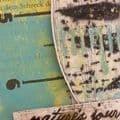 PaperArtsy - Stencil 247, Sapluuna