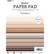 Studio Light - Paper Pad Unicolor Naturals Essentials nr.6, A5, Paperikko
