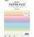 Studio Light - Paper Pad Unicolor Pastels Essentials nr.5, A5, Paperikko