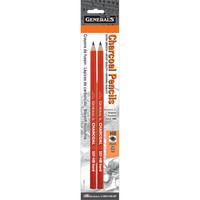 General`s - Charcoal Pencils HB, 2 kpl