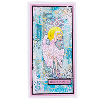 Studio Light - Grunge Collection Ballerina nr.34, Leima