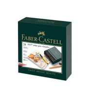 Faber-Castell - PITT Artist Pen Brush, Studiobox, 24kpl