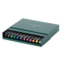 Faber-Castell - PITT Artist Pen Brush, Studiobox, 12kpl