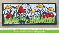 Lawn Fawn - Garden Gnome, Stanssisetti
