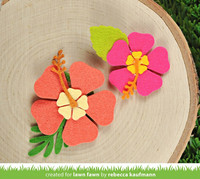 Lawn Fawn - Happy Hibiscus, Stanssisetti
