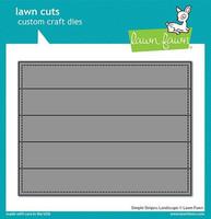 Lawn Fawn - Simple Stripes: Landscape, Stanssi