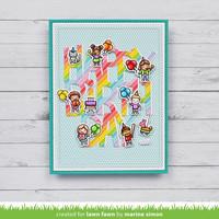 Lawn Fawn - Tiny Birthday Friends, Leimasetti