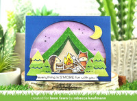 Lawn Fawn - S'more The Merrier, Leimasetti