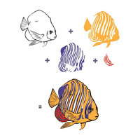 Hero Arts - Royal Angelfish, Leimasetti