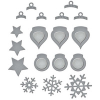 Spellbinders - Etched Dies, Stanssisetti, Holiday Decorations