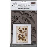 Prima Marketing - Decor Mould, Mechanical Insectica, Silikonimuotti