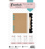 Studio Light - Cutting Die Borders page Planner Essentials nr.07, Stanssisetti