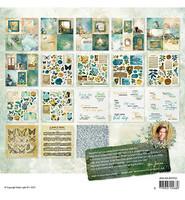 Studio Light - New Awakening nr.02, Jenine`s Mindful, Mixed Paper Pad Elements & Vellum, 20x20cm, 36 arkkia