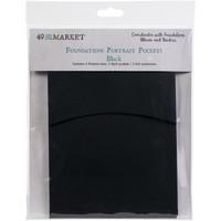 49 and Market - Foundations Portrait Pockets, Black