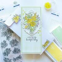Pinkfresh Studio - Joyful Bouquet, Kerrossapluunasetti
